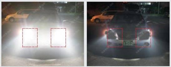 Compensacão de luz para captura e reconhecimento de placas de veículos