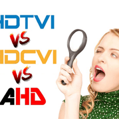 HD-TVI, HD-CVI, AHD compared