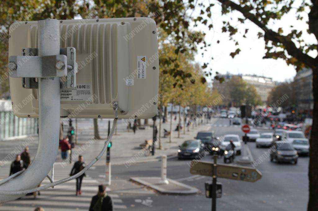 Wireless radio for CCTV
