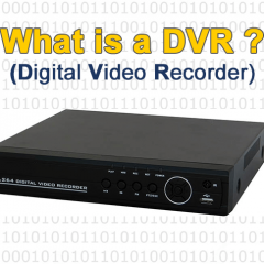 What is DVR (Digital Video Recorder)