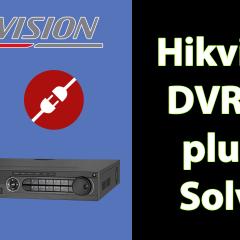 Hikvision DVR IE plugin solved
