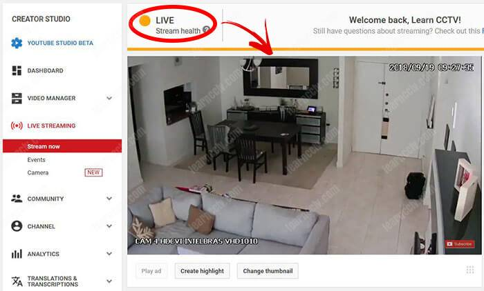 Security-camera-streaming-to-YouTube-Live