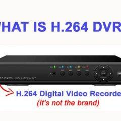 What is H.264 DVR