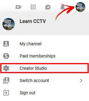 YouTube Studio Creator