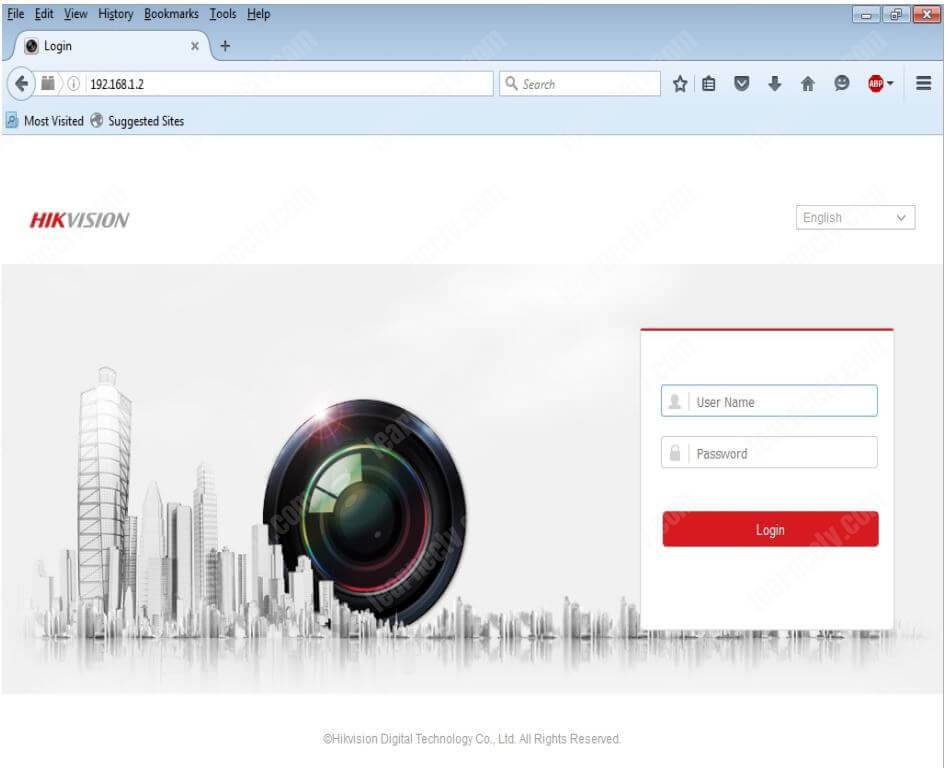 Hikvision DVR Browser Access