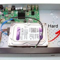 Hikvision DVR HDD