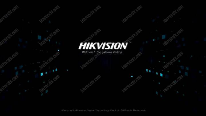 Màn hình đầu tiên NVR của Hikvision