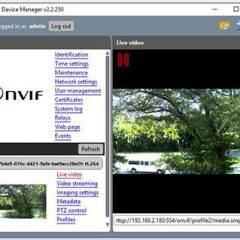 Onvif Device Manager Review and Download