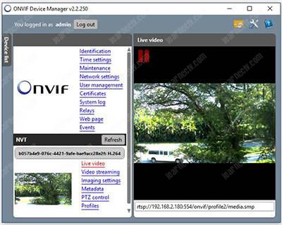 ONVIF Device Manager Review and Download (Test IP Cameras