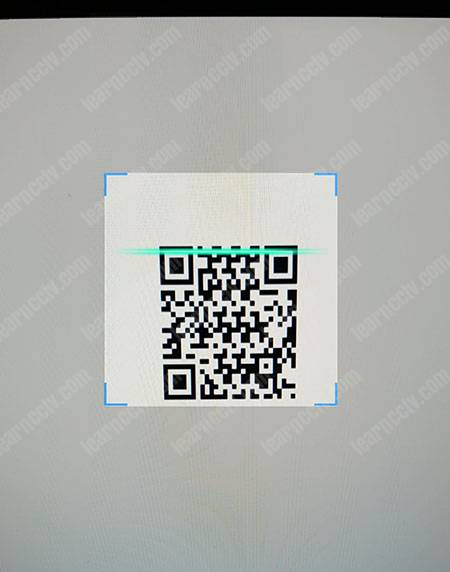 Zosi DVR Password Reset Scan QR Code