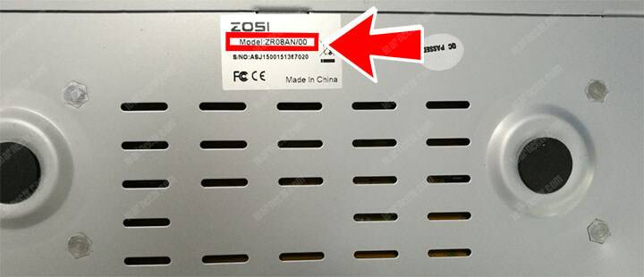 Zosi DVR model