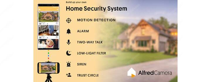 Alfred Security Camera App for Android