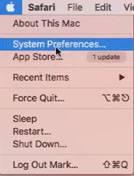 Tùy chọn hệ điều hành MAC
