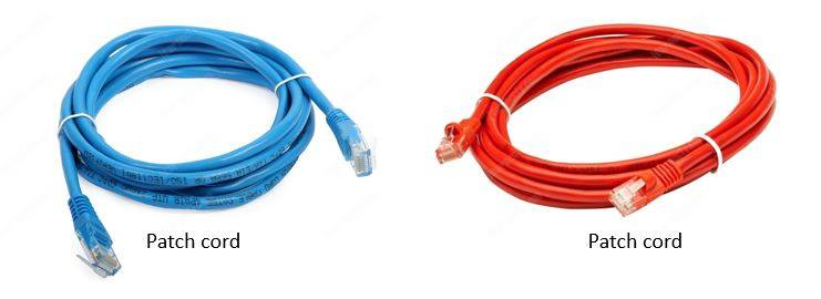 UTP patch cords