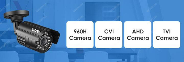 Camera an ninh tương tự Zosi