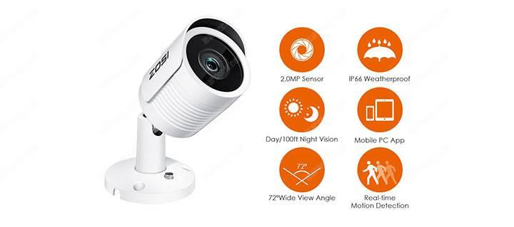 Camera an ninh Zosi IP