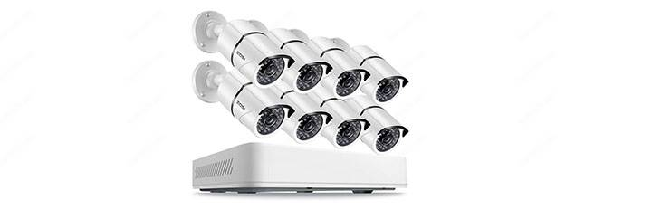 Zozi 8 channel 5MP HD Security Camera