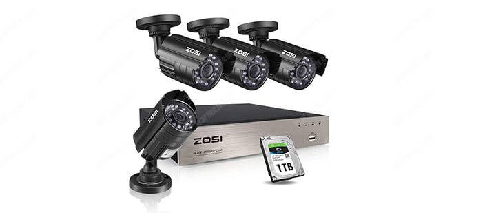 Zozi security camera Kit