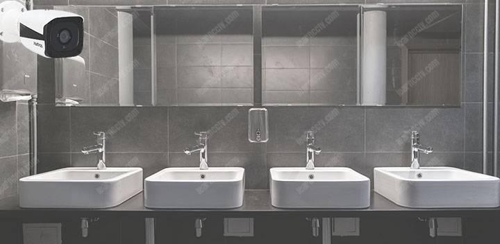 camera an ninh trong phòng tắm