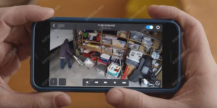 Nestcam mobile app