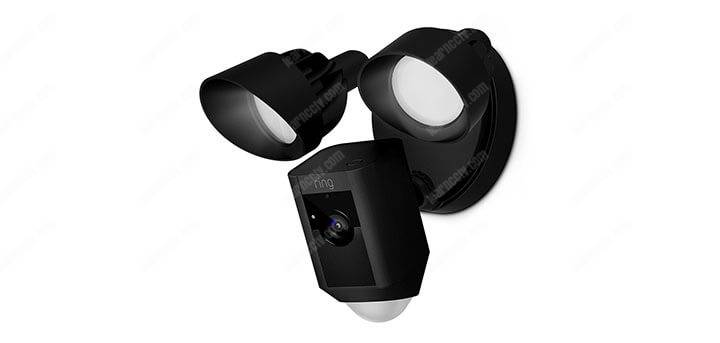 Ring camera with light sensor
