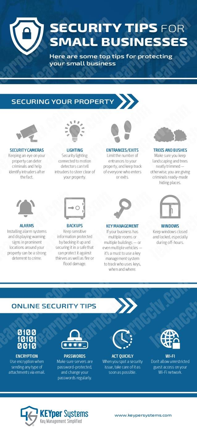 business security tips keyper