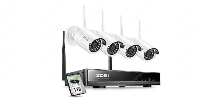 Zosi 4 channel NVR Kit