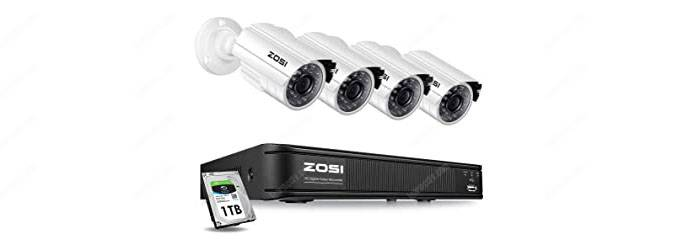 Zosi Kit with 4 cameras and DVR