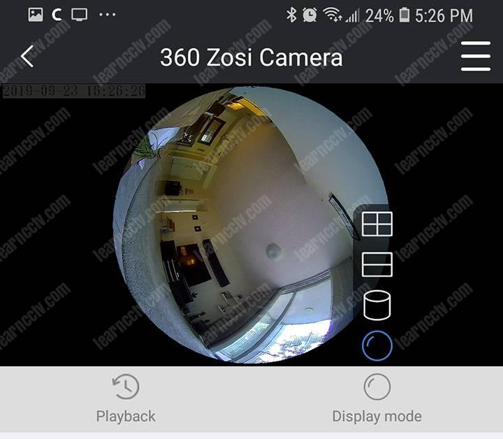 camera 360º cruising