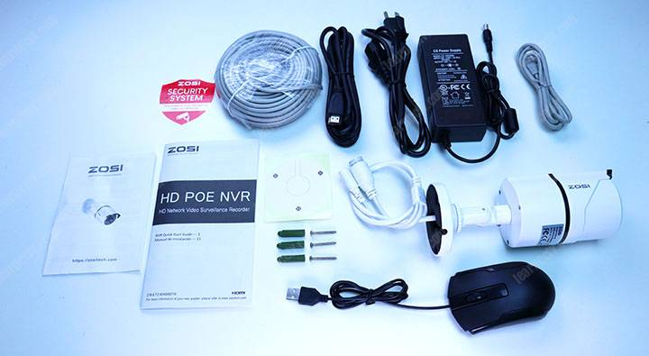 Zosi IP camera Kit