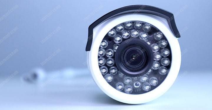 Zosi IP camera LEDs