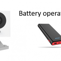 Are Wyze Cameras Battery Operated