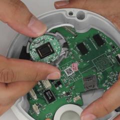 Image sensor for CCTV cameras