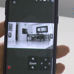 ONVIF test tool for smartphone shows camera