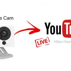 Wyze Cam Stream to YouTube