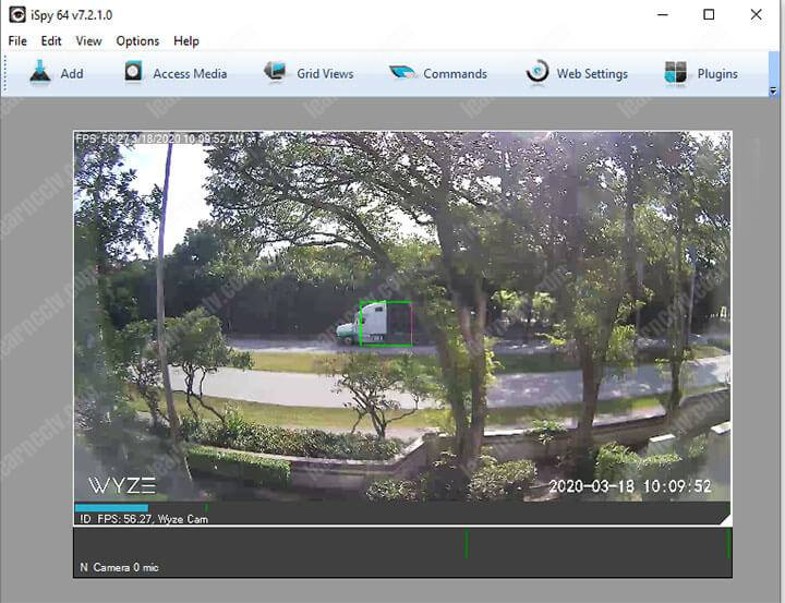 Wyze Camera on iSPY Software