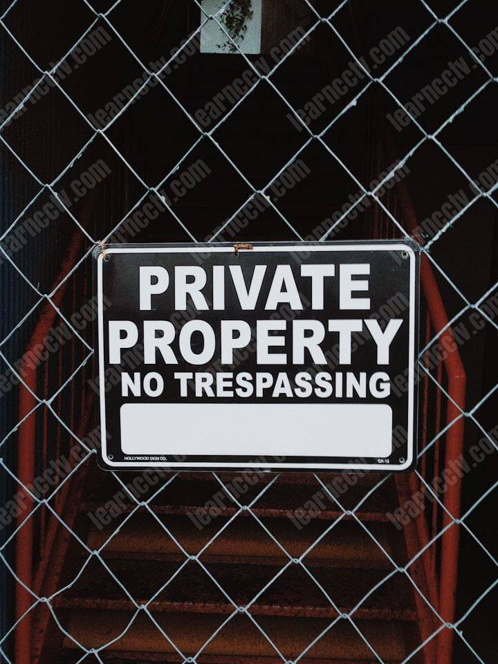 Signs can stop your neighbors from stealing from you