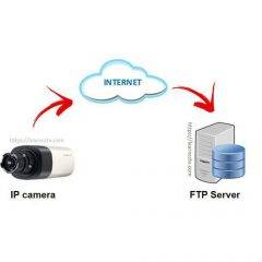FTP server for IP camera