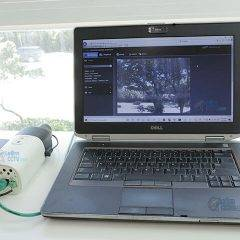 IP camera connected to laptop without Internet