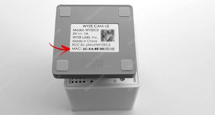 Wyze Cam MAC Address