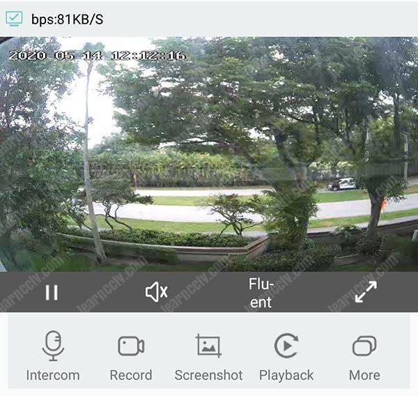 Zosi Smart App Live camera