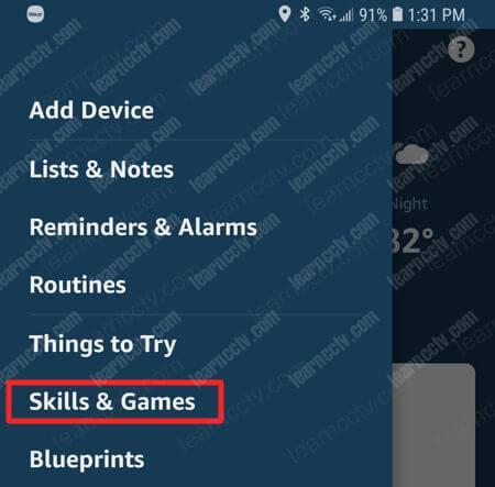 Alexa Skill and games