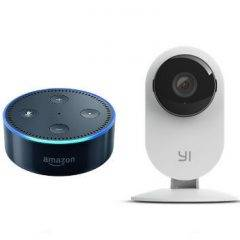 Yi camera connects to Alexa