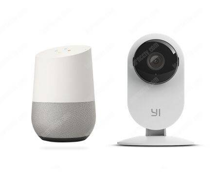 Yi camera connects to Google Home
