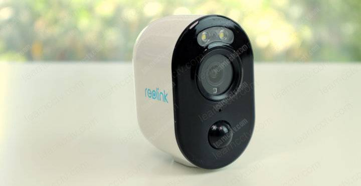 Reolink Argus 3 front view