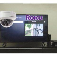 Hikvision Camera on a Roku TV