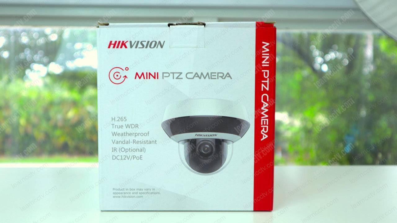 Camera PTZ Mini Hikvision