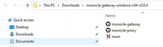 Tệp Monocle Gateway
