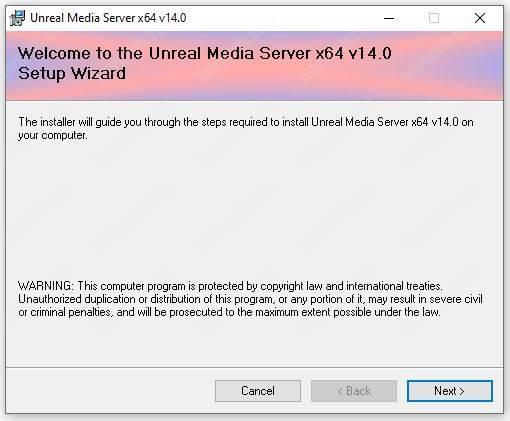 Unteal Media Server Installation 01