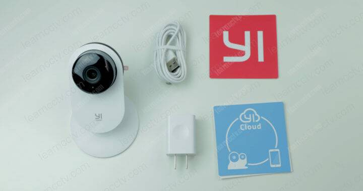 Yi Home camera what  is the box